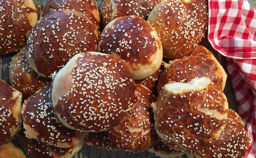 Fluffiga hamburgerbröd som du bara måste testa