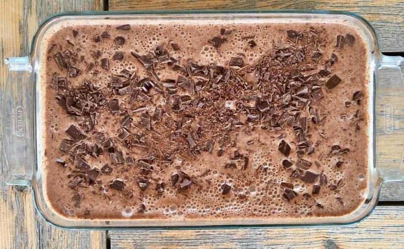 Hemgjord Chokladglass Som Också Funkar För Veganer