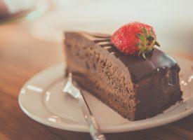 Chokladfugde På Browniebotten